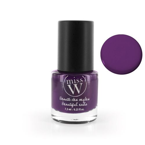 Miss W kynsilakka 28 - Dark purple