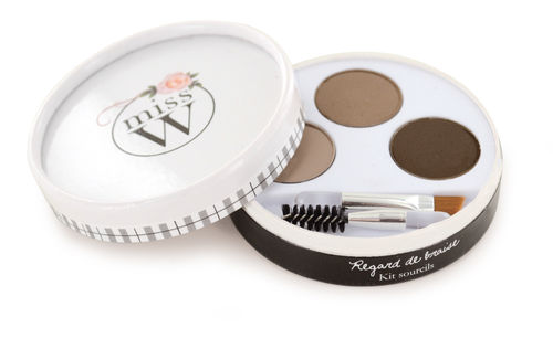 Miss W Eyebrow kit, kulmakarvakitti