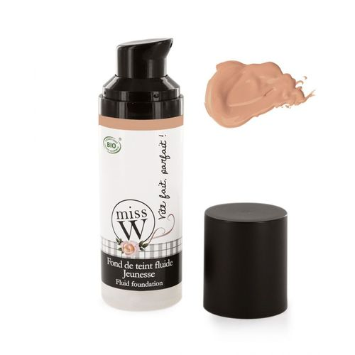 Miss W Youth Fluid foundation, 24 Sand 30 ml